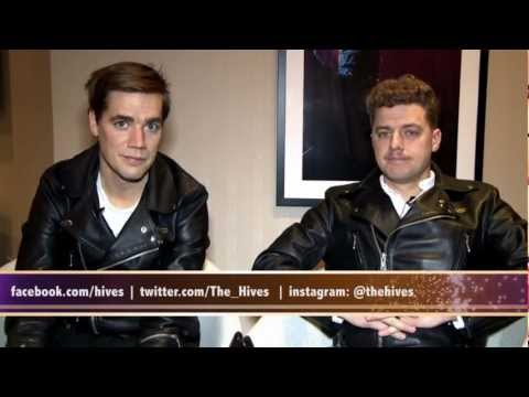 The Hives Interview at Madison Square Garden