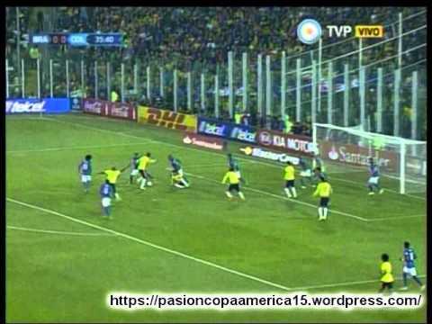 Colombia 1 Brasil 0 (Radio Deporte Bolivia)   Copa America 2015
