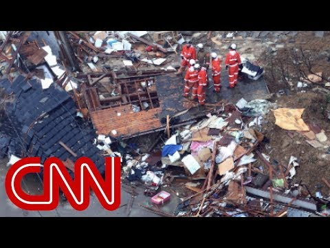 Catastrophic rainfall kills dozens in Japan