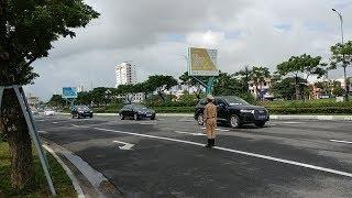 CSGT hộ tống Maybach S600 chống đạn của tổng thống Hàn Quốc-Maybach S600 escorted by CBX750