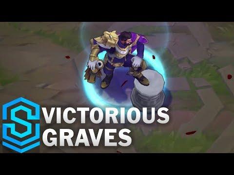 Victorious Graves Skin Spotlight - Pre-Release - League of Legends