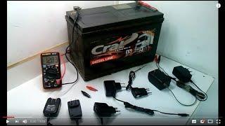 Carregador de Baterias Com Qualquer Fonte - Como Fazer? (Sucata que vc tem em Casa)