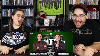 Mike Kalinowski VS Jared Haibon REACTION - Movie Trivia Schmoedown