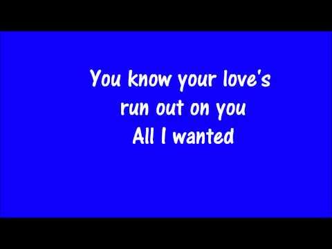 Goo Goo Dolls- Sympathy Lyrics