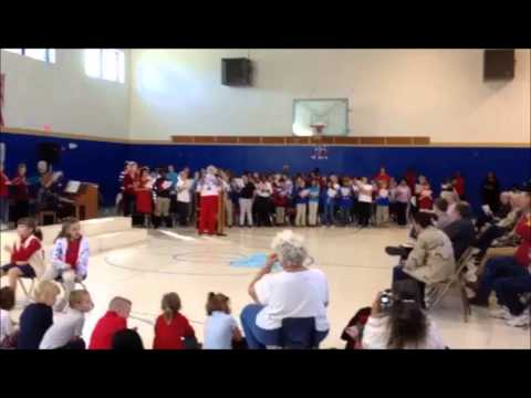 Veterans Day Sing at Pinetta Elementary School