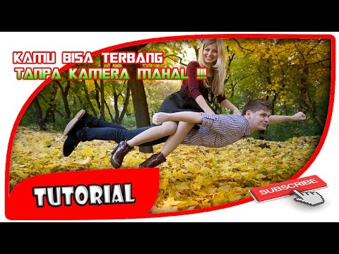 TUTORIAL CARA MUDAH EDIT FOTO TERBANG / LEVITASI DI ANDROID / HOW TO EDIT FOTO LEVITASI IN ANDROID