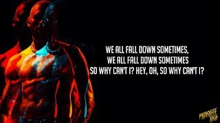 Usher & Chris Brown - All Falls Down (Lyrics)