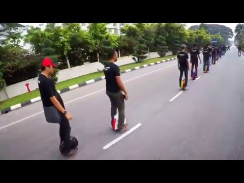 Ipoh Car Free Day 18/10/15 ( EGO WHEEL TEAM )