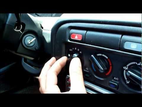 Nissan 200sx blower motor repair and resistor