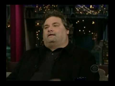 Artie Lange on Letterman 3/3/09 Pt 1