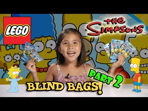 LEGO The SIMPSONS Minifigures! Blind Bag Opening PART 2