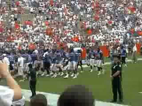 florida vs. hawaii game 2008 celebration