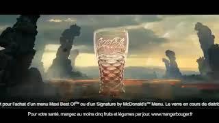 Publicité 2018 - McDonald's - Retour des verres Coca-Cola  Musique