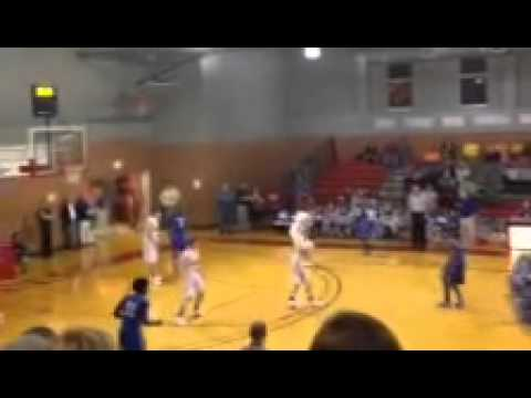 Q.D. Tinsley Hits game winner -- Chambers Academy Basketball