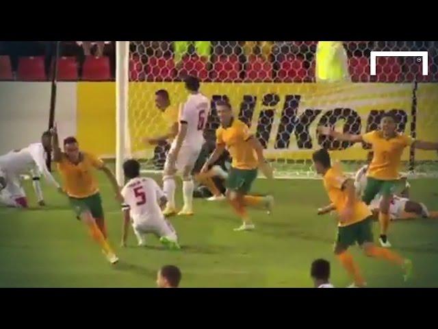 Australia 2-0 UAE   2015 AFC Asian Cup