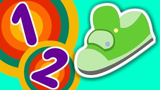One Two Buckle My Shoe | Nursery Rhyme | Learn Counting 1 to 20 | Numbers Song