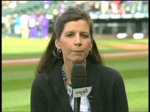 Debbi Taylor talks about John Lannan's successful bullpen seshion