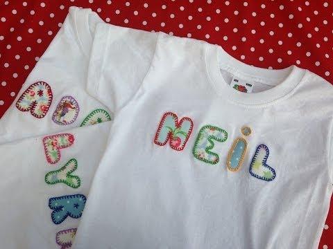 C mo personalizar camisetas para ni os o beb s youtube - Decorar camisetas basicas ...