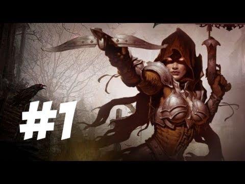 Diablo III Gameplay Part 1 – Starting up a Demon Hunter (PS3)