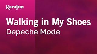 Karaoke Walking In My Shoes - Depeche Mode *