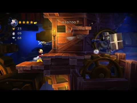 Castle of Illusion Starring Mickey Mouse 100% Walkthrough P.10 - The Castle - Act 2