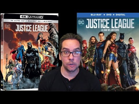 Justice League Blu-ray Covers Revealed streaming vf