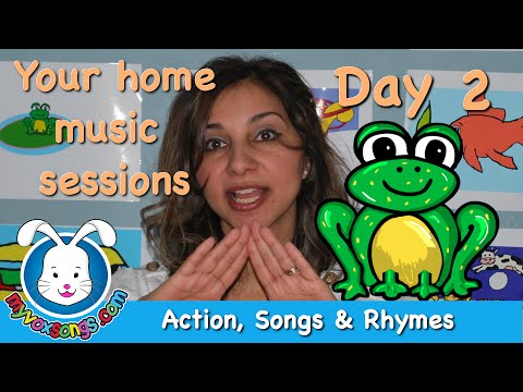 Daily Action Songs & Rhymes - Day 2 - Myvoxsongs video