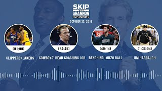 UNDISPUTED Audio Podcast (10.23.19) with Skip Bayless, Shannon Sharpe & Jenny Taft | UNDISPUTED