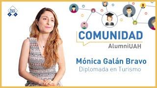 Comunidad AlumniUAH · Mónica Galán