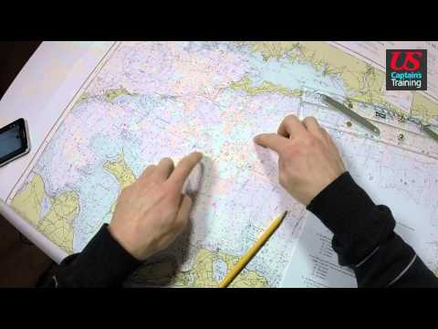 Captain License Chart Navigation – Speed Made Good Practice Problem 3