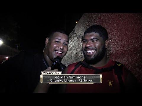 WeAreSC Video: USC-ASU post-game interviews