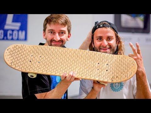 BLIND SKATER VS NAIL BOARD!