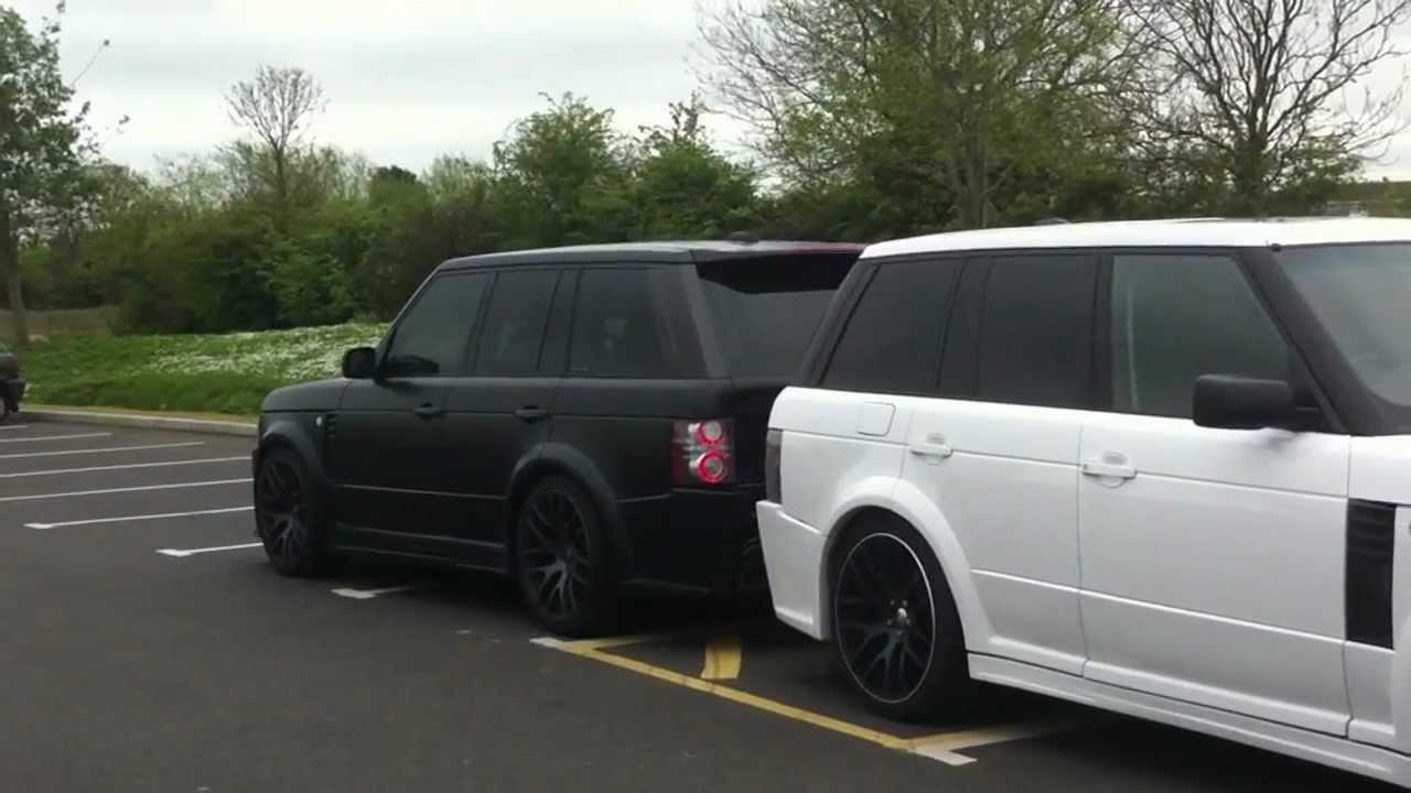 Kahn Body Kit Defender >> Range Rover Vogue Meduza Body Kit - YouTube
