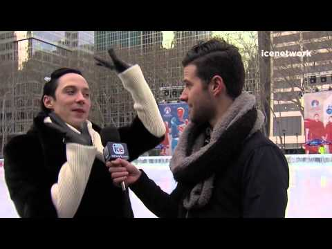 Johnny Weir - icenetwork  interview Feb 24,2015