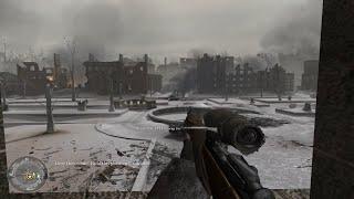 ''STALINGRAD SNIPER MISSION'' - Call of Duty 2 - Mission #7