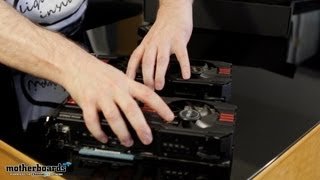 Dual ASUS HD 7970 Direct CU II TOP 3GB Video Card Unboxing & Hands-On!