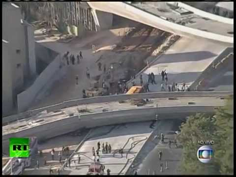 brazil world cup viaduct collapse in Belo Horizonte
