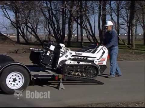 Bobcat Mini Track Loader Safety