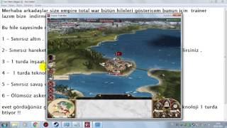Empire Total War hile hack 2017 [ bütün hileler ]