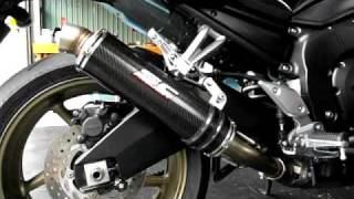 SC exhaust system for FZ1中尾段.AVI