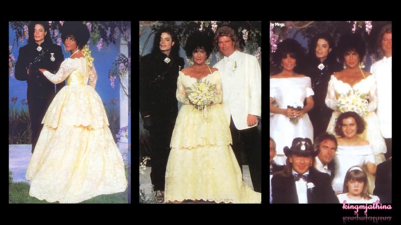Elizabeth Taylor And Michael Jackson Wedding Michael Jackson at Elizabeth