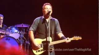 Be True - Springsteen - Jobing.com Arena Glendale, AZ - Dec 6, 2012