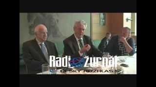 """""""Sprostý"""" Zeman v Radiožurnálu-Populární záznam a """"opravdový Zeman"""""""