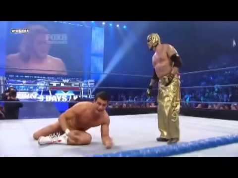 Wwe Friday Night Smackdown 2010 12 10 : Rey Mysterio & Edge Vs Kane & Alberto Del Rio video
