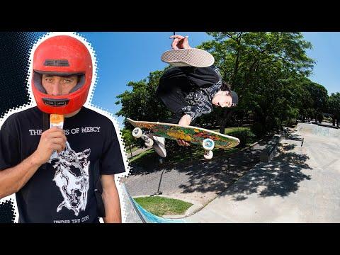 ICE CREAM AND INVERTS! ERICK WINKOWSKI RAW & UNCUT: LIVE FROM ARGENTINA   Santa Cruz Skateboards
