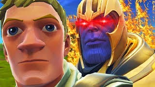 Fortnite Thanos Trolling...