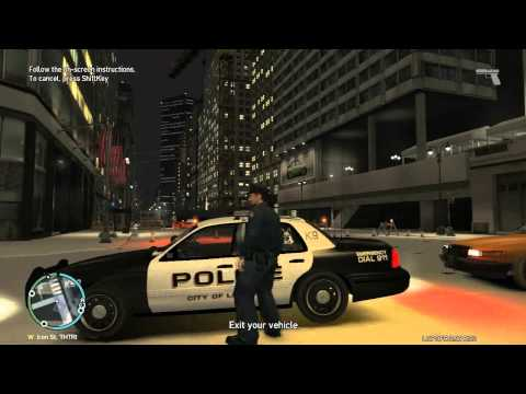 GTA IV LCPDFR 0.95 RC2 - Day 2 of the Snow Patrol W/ Live Commentary