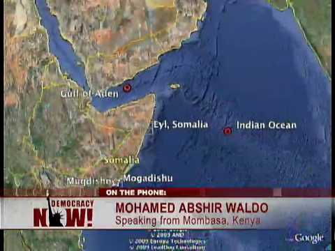 Analysis: Why Did Somalia Piracy Begin? Democracy Now 4/14/09 2 of 2