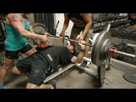 Metroflex LBC guide to Powerlifting: BENCH PRESS Image 1
