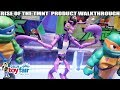 Rise of the TMNT Playmates Toys Product Walkthrough at Toy Fair 2019 thumbnail
